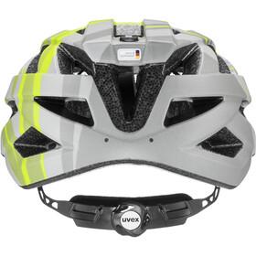 UVEX Air Wing CC Helmet Kids, szary/zielony